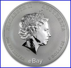 5 oz Drache Lunar II Silber Münze silver coin 2012 Year of the Dragon
