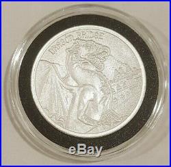 6 Silver 2oz Gargoyles of the World Silver Round Coins Notre Dame Dragon Bridge