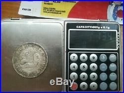 Antique Chinese Silver Dragon half dollar coin Kiang nan
