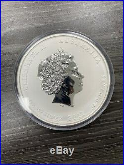 Australia 2012 Silver Proof 1kg Lunar II Dragon Coin. Only 500 pcs