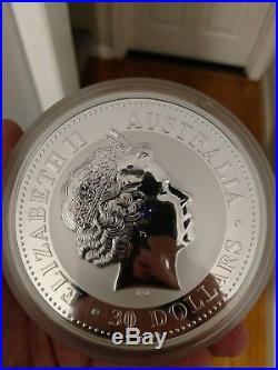 Australia Silver coin 1 kilo 100oz Dragon 2000 uncirculated 30 $