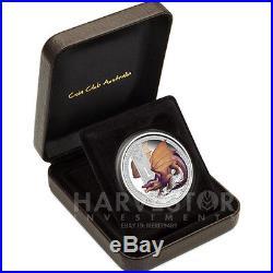 Australian Mythical Creatures Coin #5 Dragon 1oz. Proof Silver Coin