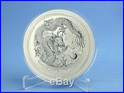 Australien 10 Dollars 2012 Lunar II Year of the Dragon 10 oz 999 Silber st