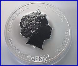 Australien Lunar II Drache Dragon 10 Unzen 10 oz Silber Silbermünze 2012