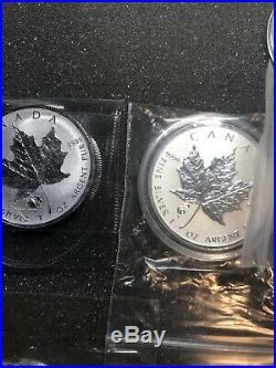 Canada Maple Leaf Privy Coins Bullion Titanic Dragon Tank Clover Fireworks X 22