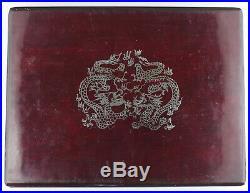 China 1988 100 Yuan Proof 12 Oz Silver Proof Coin Lunar Year of Dragon + BOX/COA