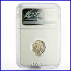 China Dragon and Phoenix 10 cents MS61 NGC LM-83 silver coin 1926