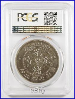 China Szechuan 1901-08 Dragon $1 Silver Coin PCGS XF40 L&M-345 Y-238 Nice Toning