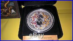 DRAGONS Of LEGEND 5 oz silver proof coin rare rare rare
