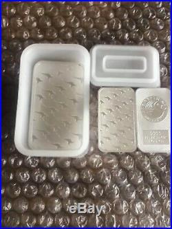 Full Tube Of 1oz. 999 Silver Perth Mint Dragon Bars/coins (20 Oz's) 2019