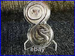 GERMANIA 5 MARK 2020 FAFNIR dragon x2 1oz SILVER Coin (Ag 999) BU + FREE capsule
