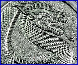 GERMANIA Beasts Fafnir the Dragon 1 oz. 999 fine Silver 2020-COA & Box