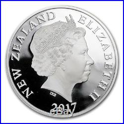New Zealand 2017 Taniwha Maori Dragon 2-Coin Gold + Silver NZ Prf Set MINTAGE 80