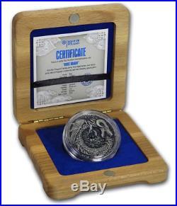 Niue Island 2019 2$ Norse Dragon 2oz Silver Coin