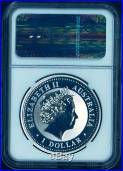 PERFECT 2000 P AUSTRALIA YEAR OF THE DRAGON 1 oz Bullion Coin NGC MS70