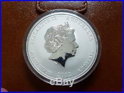 Perth Mint 2012 Lunar Dragon 5 oz Silver Bullion Coin FREE WORLDWIDE SHIPPING