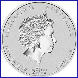 Perth Mint Australia $1 Black Dragon Berlin Coin Show 2012 1 oz. 999 Silver Coin