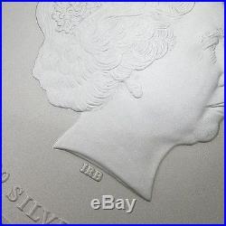 Perth Mint Australia $300 Lunar Series 2 Dragon 2012 10 kg kilo. 999 Silver Coin