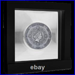 Phoenix and Dragon Oriental Culture Collection Silver Coin Republic of Ghan 2021