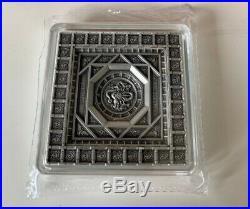 Samoa 2020 Dragon Caisson Ceiling in The Forbidden City Silver Coin 100g