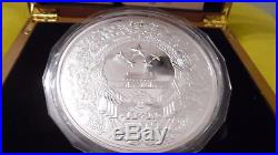 Silber Münze 1KG Jahr des Draches PLATED-Silver Coin 1KG Year of Dragon PLATED