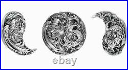 Tchad 2021 Eternal Bond Chinese Dragon and Phoenix Set 2 x silver coin 2oz
