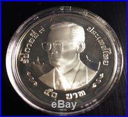 Thailand King Rama IX, Dragon silver proof coin